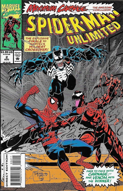 Sam De La Rosa Autographed Signed Spider Man Unlimited Carnage Marvel Comic Book W Sketch Certified Authentic