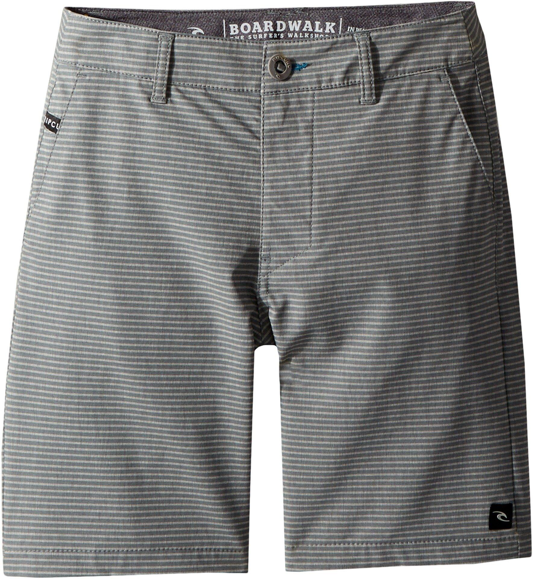 Rip Curl Kids Boy's Mirage Phase Boardwalk Shorts (Big Kids) Charcoal 25 (10 Big Kids)