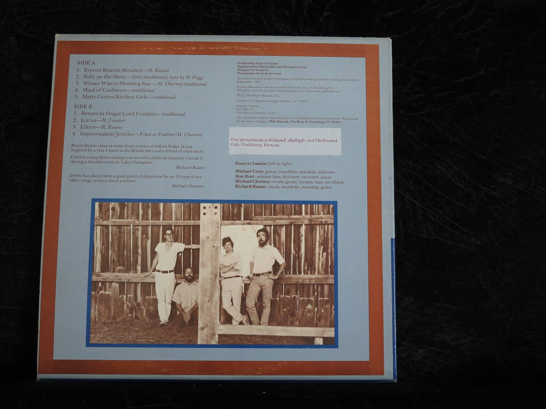 Feast or Famine (USA 1st pressing vinyl LP) - Amazon.com Music