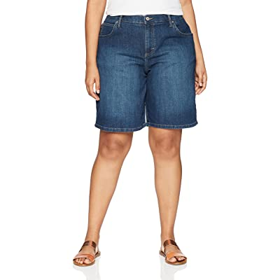 LEE Women's Plus Size Relaxed-fit Bermuda Short at Women's Clothing store