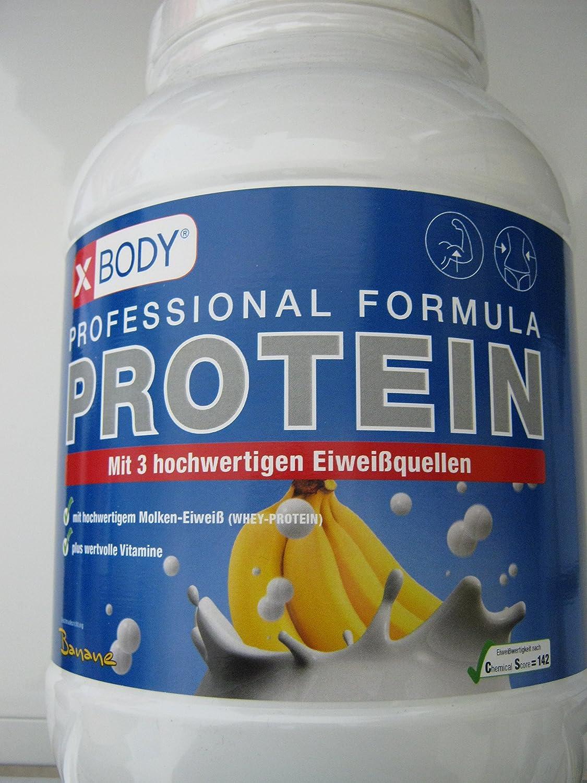 xbody Professional Formula proteína Plátano 750 g: Amazon.es ...