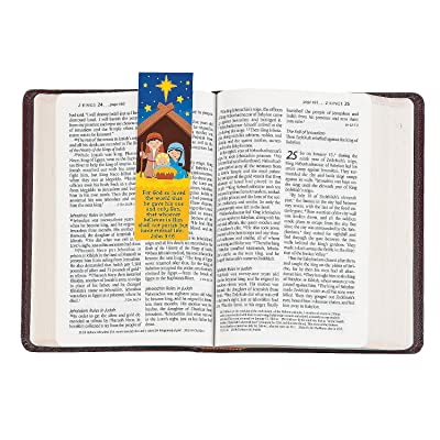 Fun Express - Nativity Bookmarks for Christmas - Stationery - Bookmarks - Bookmarks - Christmas - 24 Pieces: Toys & Games [5Bkhe1102325]