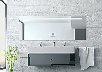Bluestar Multimedia Design LED Spiegel 160x60cm mit intregriertem ...