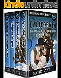 California  Mail Order Bride Box Set Books 1 - 4:  Historical Mail Order Bride Romance Series (California Historical Mail Order Bride Romance Series Book 9)