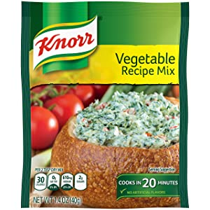 Knorr Recipe Mix, Vegetable, 1.4 oz, Pack of 12