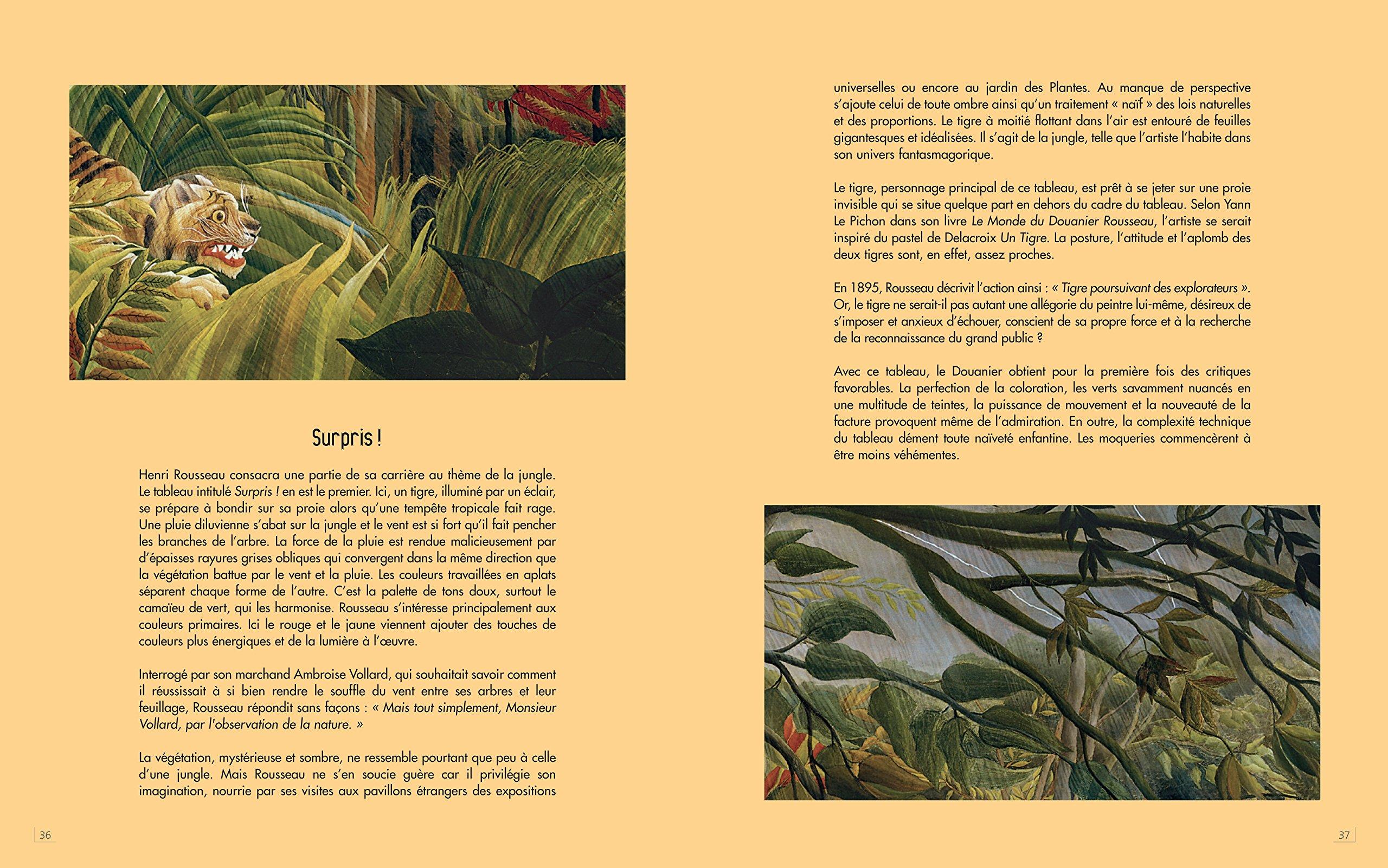 Le Douanier Rousseau Amazon.de Maxilivres Fremdsprachige Bücher