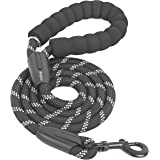 iYoShop 6 FT Strong Dog Leash with Comfortable Padded Handle and Highly Reflective Threads Dog Leashes for Medium and Large D