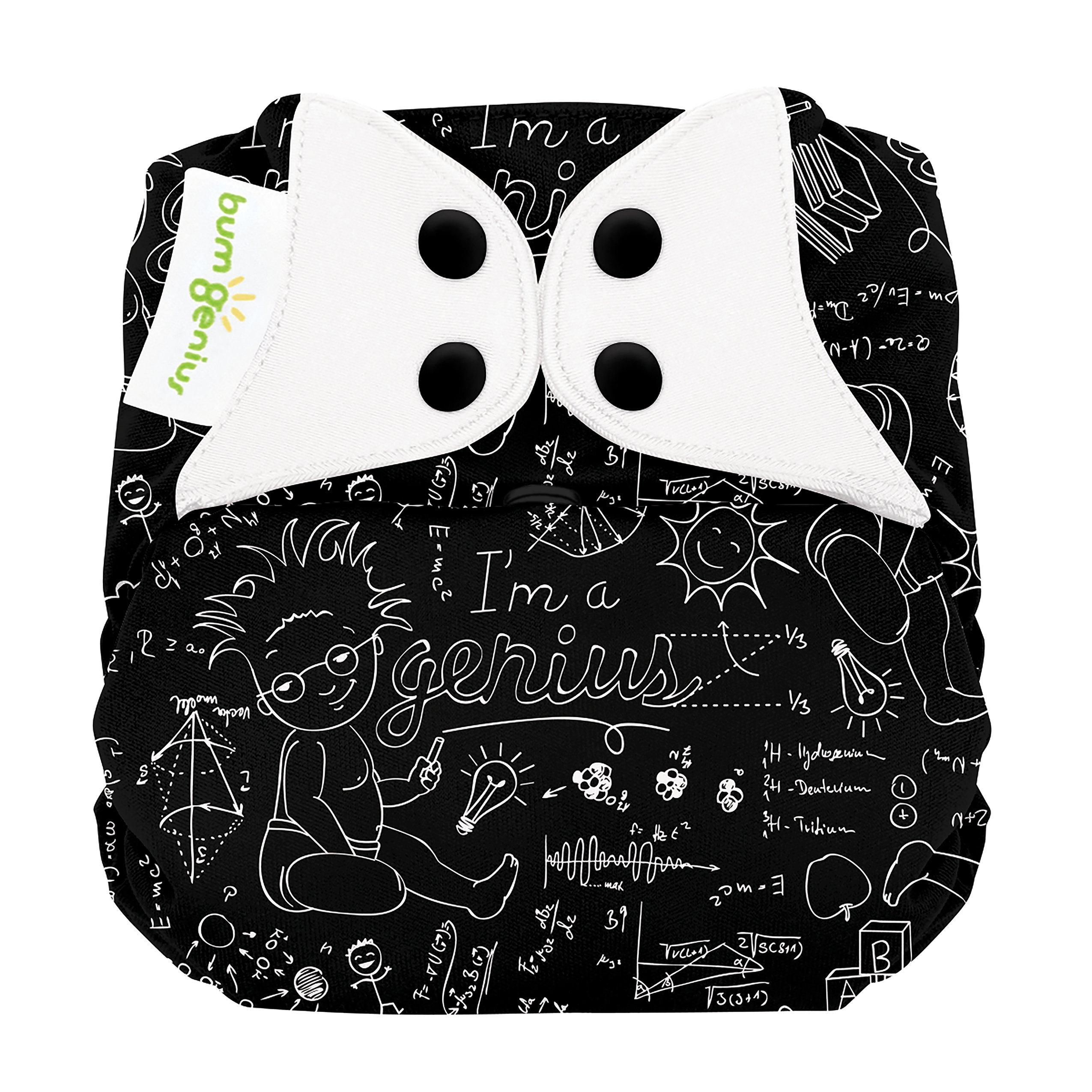 bumGenius Elemental 3.0 All-In-One One-Size Cloth Diaper with Organic Cotton (Albert)