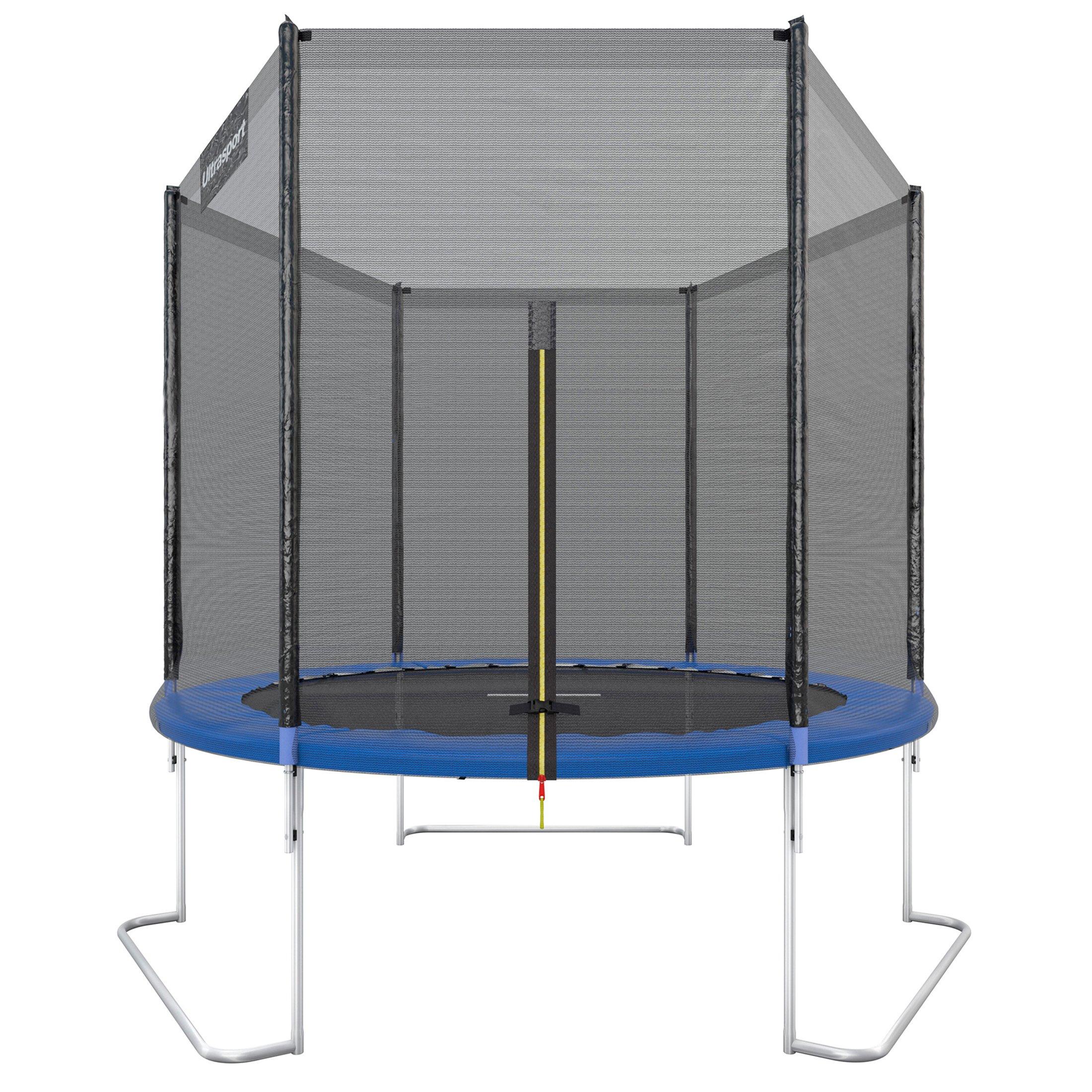 c68745d2ee257f Ultrasport Trampolino da Giardino Jumper, Set Trampolino per Il Salto  Inclusi Tappeto Elastico, Rete