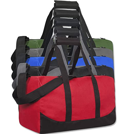 1802fad24114 Lot of 24 Wholesale Duffel Bags for Charities
