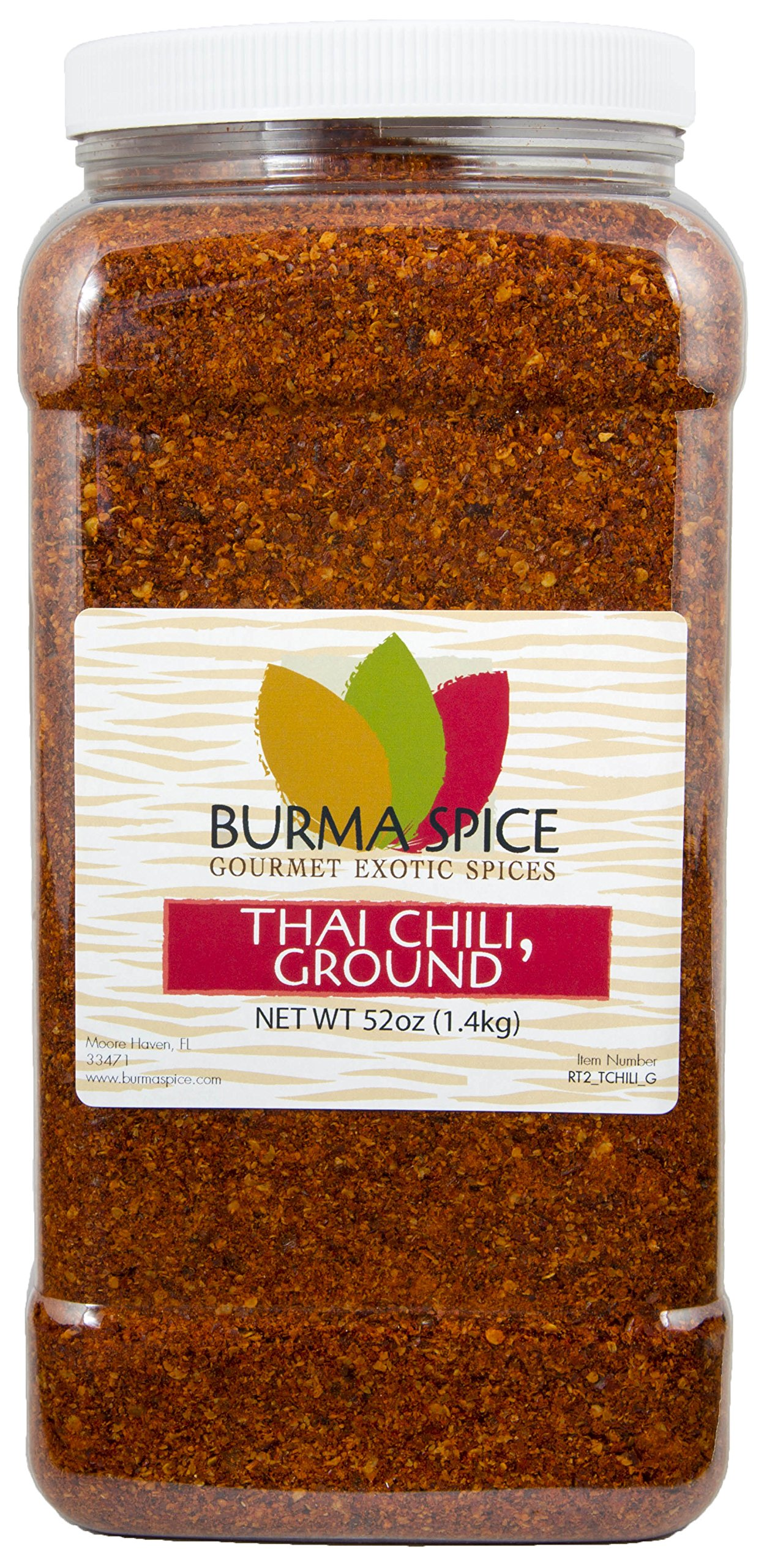 Ground Thai chili l Kosher dried crushed spice l 52 Ounces l ideal for Gochujang and South Asian recipes