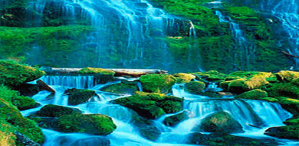 Amazon Blue Waterfall Live Wallpaper Appstore For Android