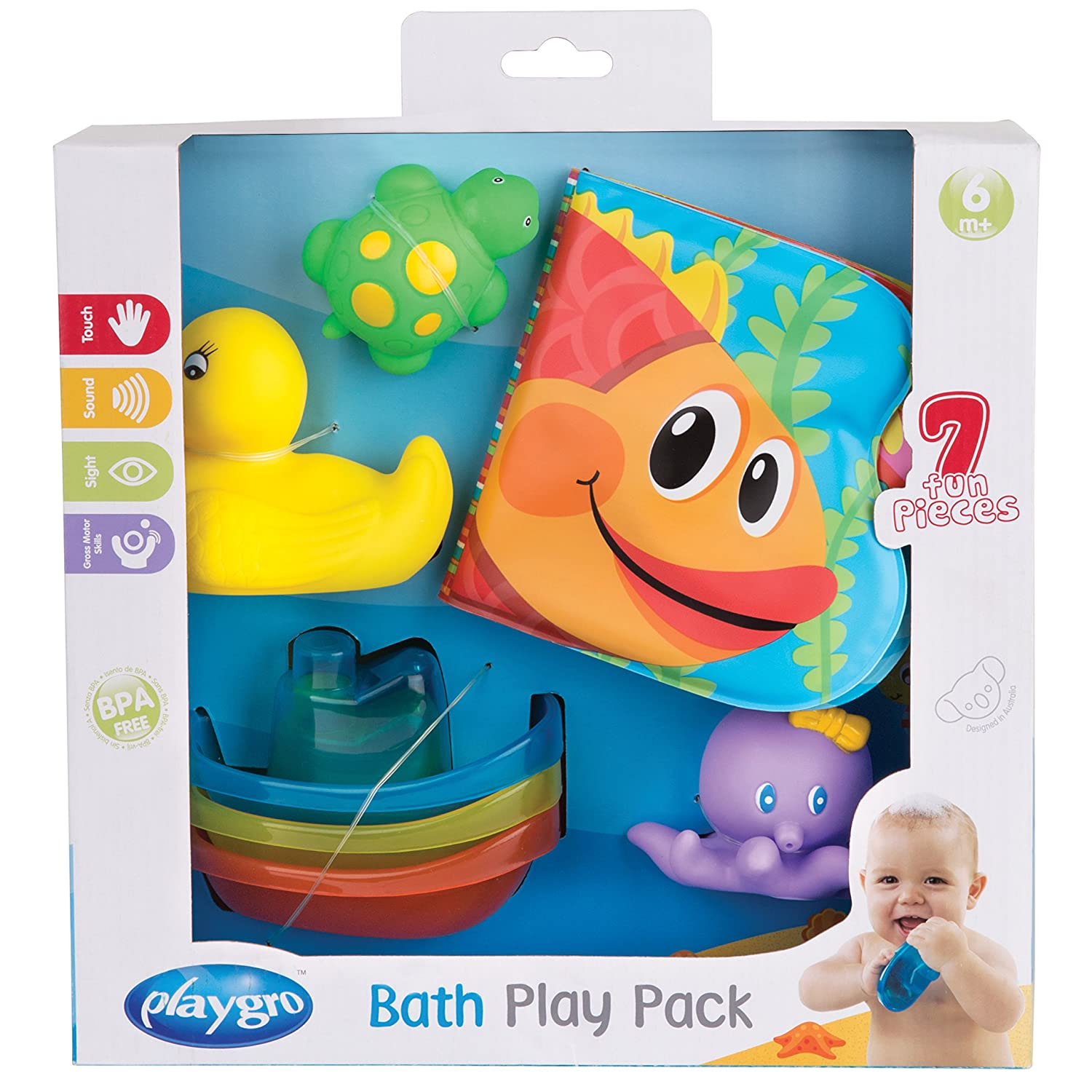 Playgro Bath Play Gift Pack 0185257