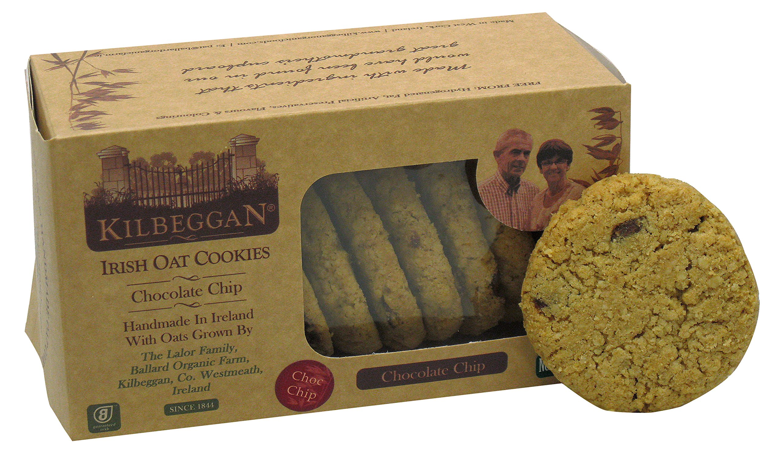 Kilbeggan Irish Oat Cookies, Chocolate Chip, 7 Ounce