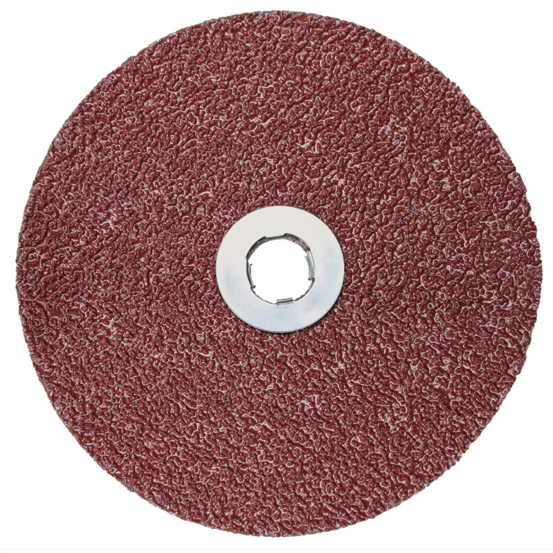 "3M Cubitron II Fibre Disc 982C, GL Quick Change, 36+ Grit, 7"" Diameter, Ceramic Grain - Lot of 25"