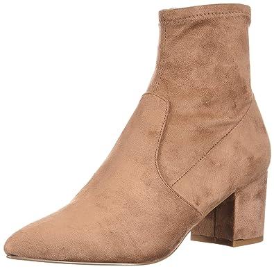 a basso prezzo 9e897 4333c Steve Madden Stivaletto Blaire TAN: Amazon.co.uk: Shoes & Bags