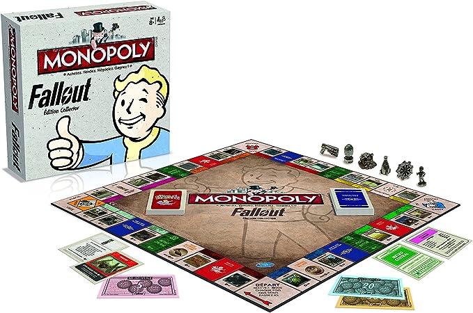 Winning Moves 0979 Monopoly Fallout - Versión Francesa: Amazon.es: Juguetes y juegos
