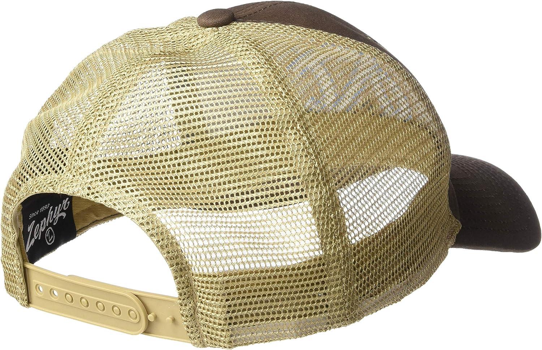 Brown NCAA Zephyr North Carolina Tar Heels Mens Mesa Waxed Cotton Trucker Hat Adjustable