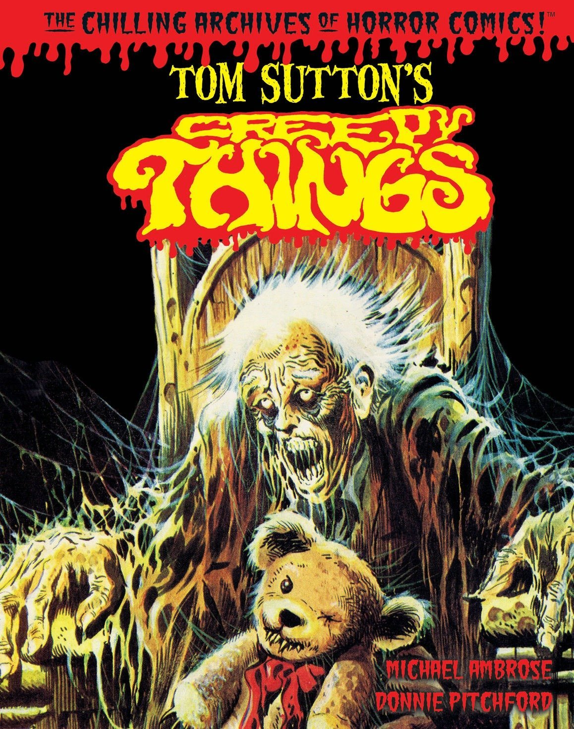 Download Tom Sutton's Creepy Things (Chilling Archives of Horror Comics!) pdf epub