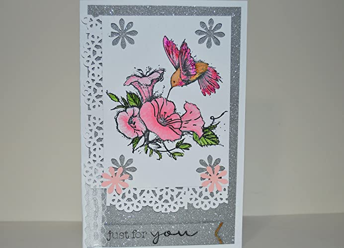 Amazon handmade greeting card with exquisite hand painted handmade greeting card with exquisite hand painted humming bird and decorated with craft material can m4hsunfo