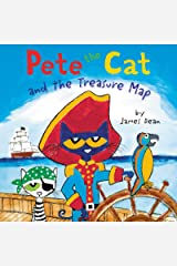 Pete the Cat and the Treasure Map Kindle Edition