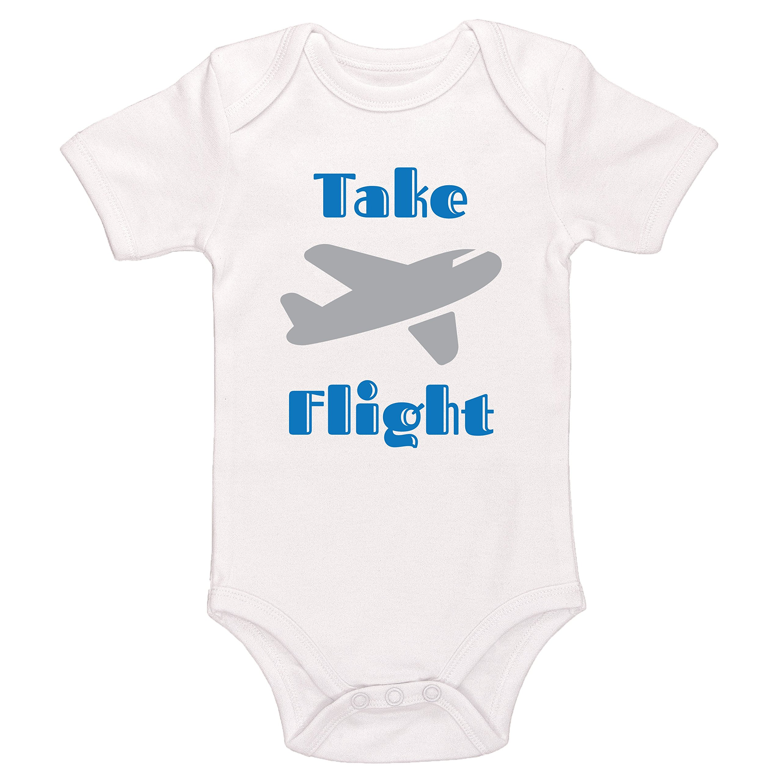 Starlight Baby Take Flight Bodysuit (White, 0-3 Months)