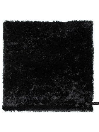 Perfekt Benuta Shaggy Hochflor Teppich Whisper Quadratisch Schwarz 60x60 Cm |  Langflor Teppich Für Schlafzimmer Und Wohnzimmer