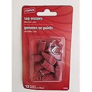 Staples Cap Erasers, Pack of 12