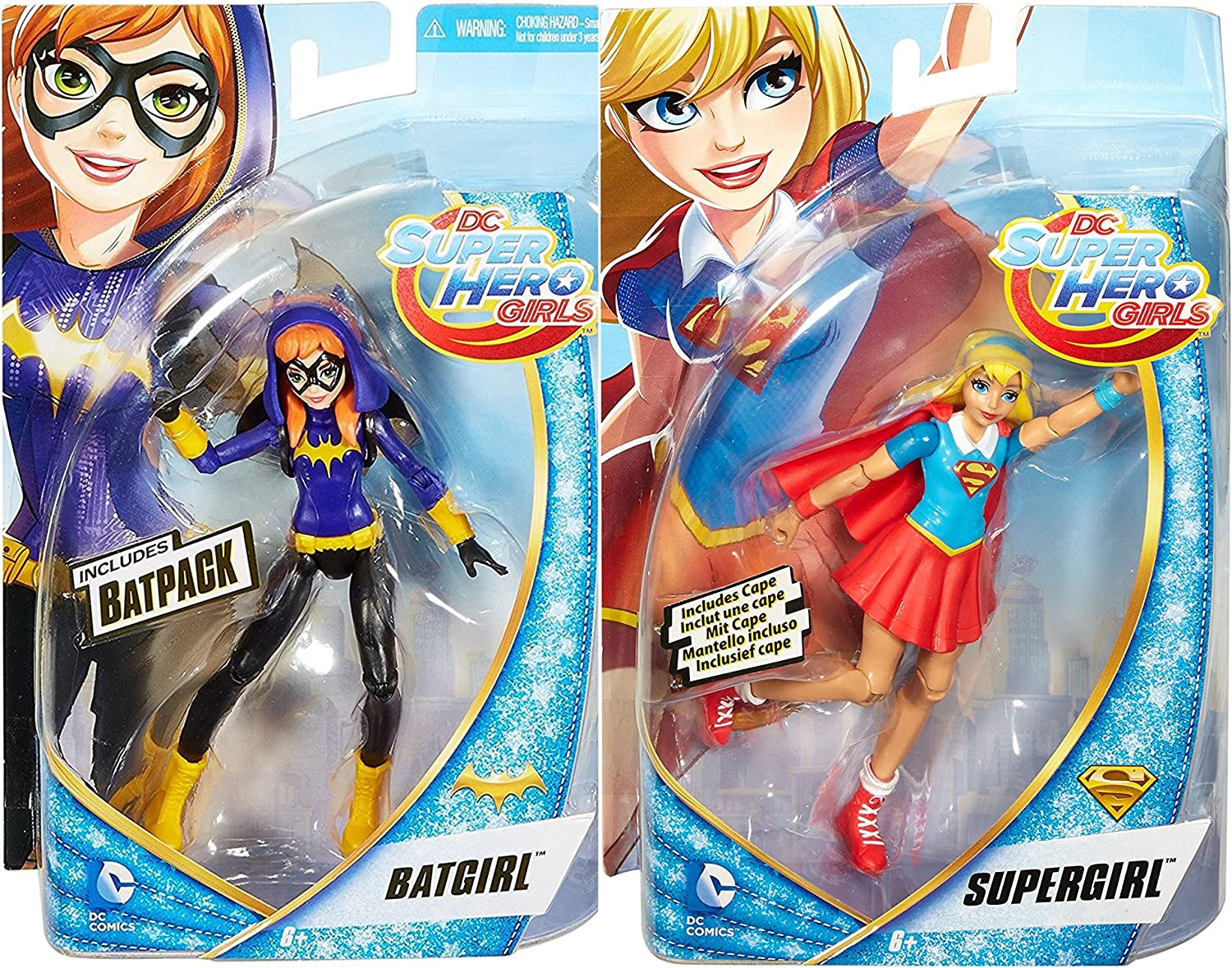 Dc Comics Super Hero Girls 6 Inch Batgirl Action Figure Kids Collectible Toy New