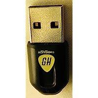 Genuine WII U Guitar Hero LIVE Guitar USB DONGLE wireless receiver adapter