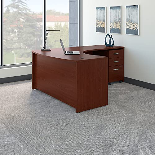 Bush Business Furniture Series C Right Handed L Shaped Desk