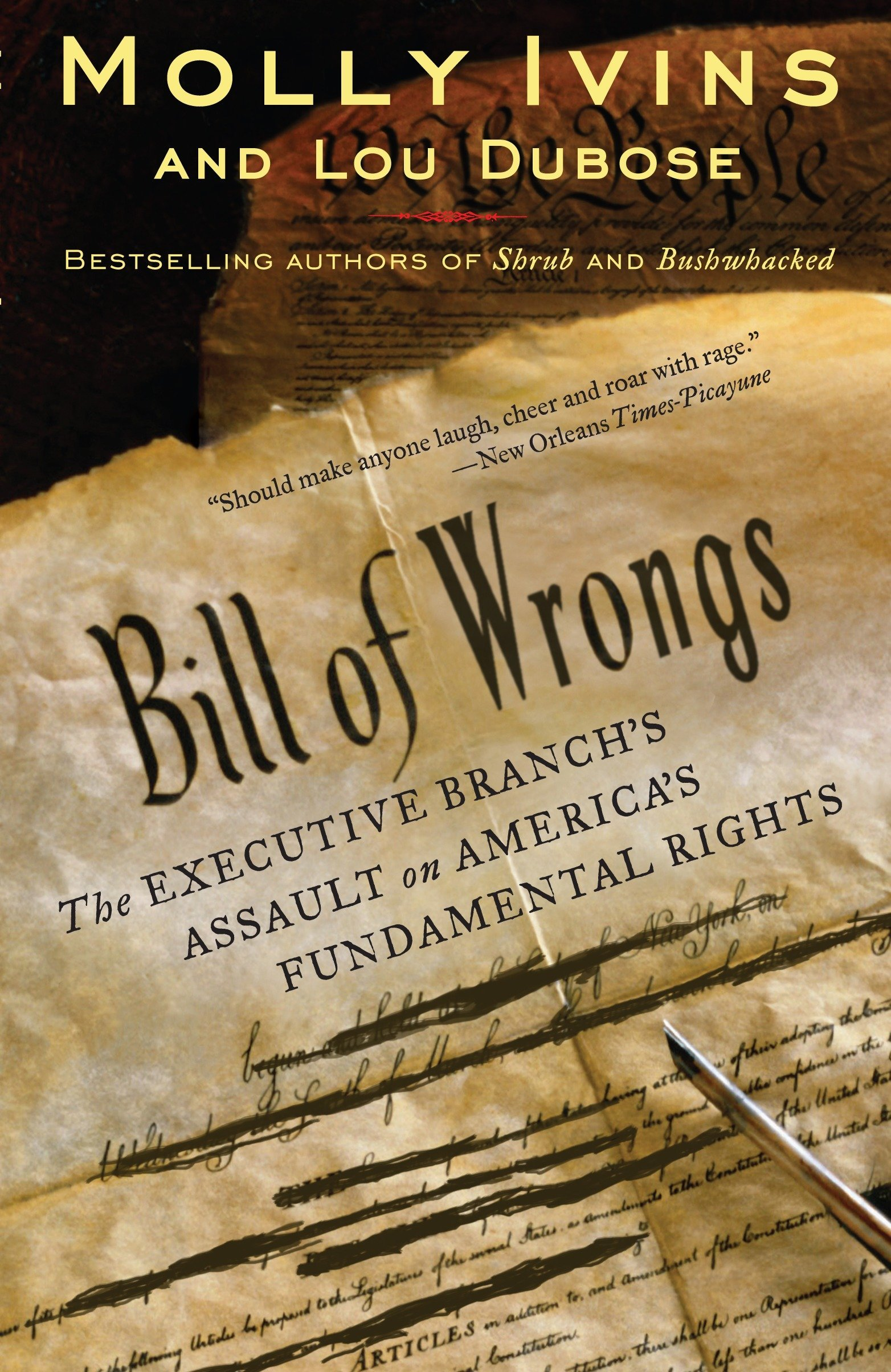 Download Bill of Wrongs: The Executive Branch's Assault on America's Fundamental Rights pdf epub