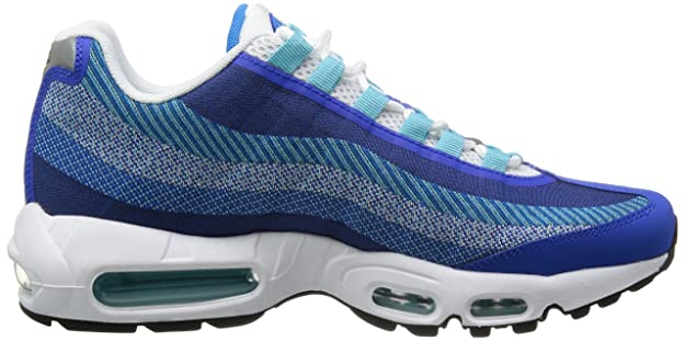 Nike Air Max 95 Jacquard Price Cheap Men´s Running Shoes Blue 644793 400