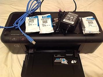 HP Impresora HP Deskjet D2660 - Impresora de tinta (9 ppm, 21 ppm ...