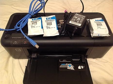 HP Impresora HP Deskjet D2660 - Impresora de tinta (9 ppm ...