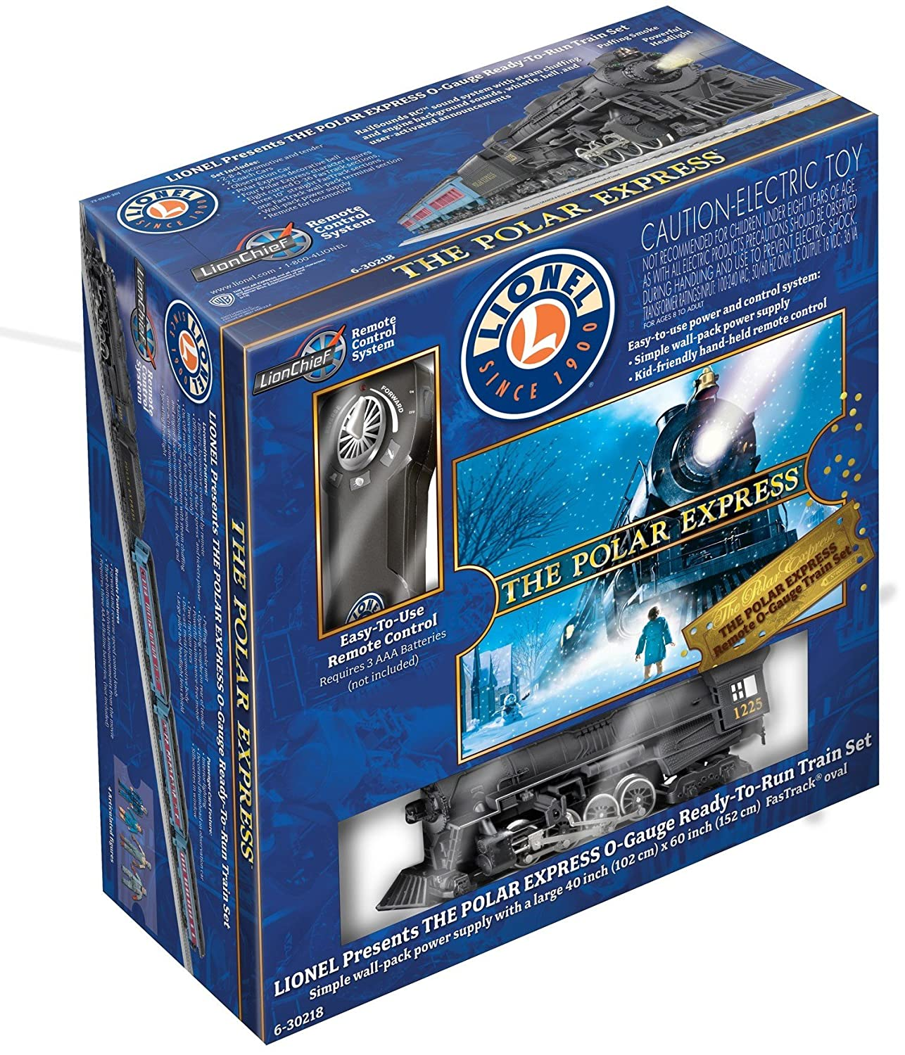 Lionel Polar Express Remote Train Set - O-Gauge