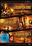 The Scorpion King / The Scorpion King - Aufstieg eines Kriegers / Scorpion King 3 - Kampf ... [3 DVDs]