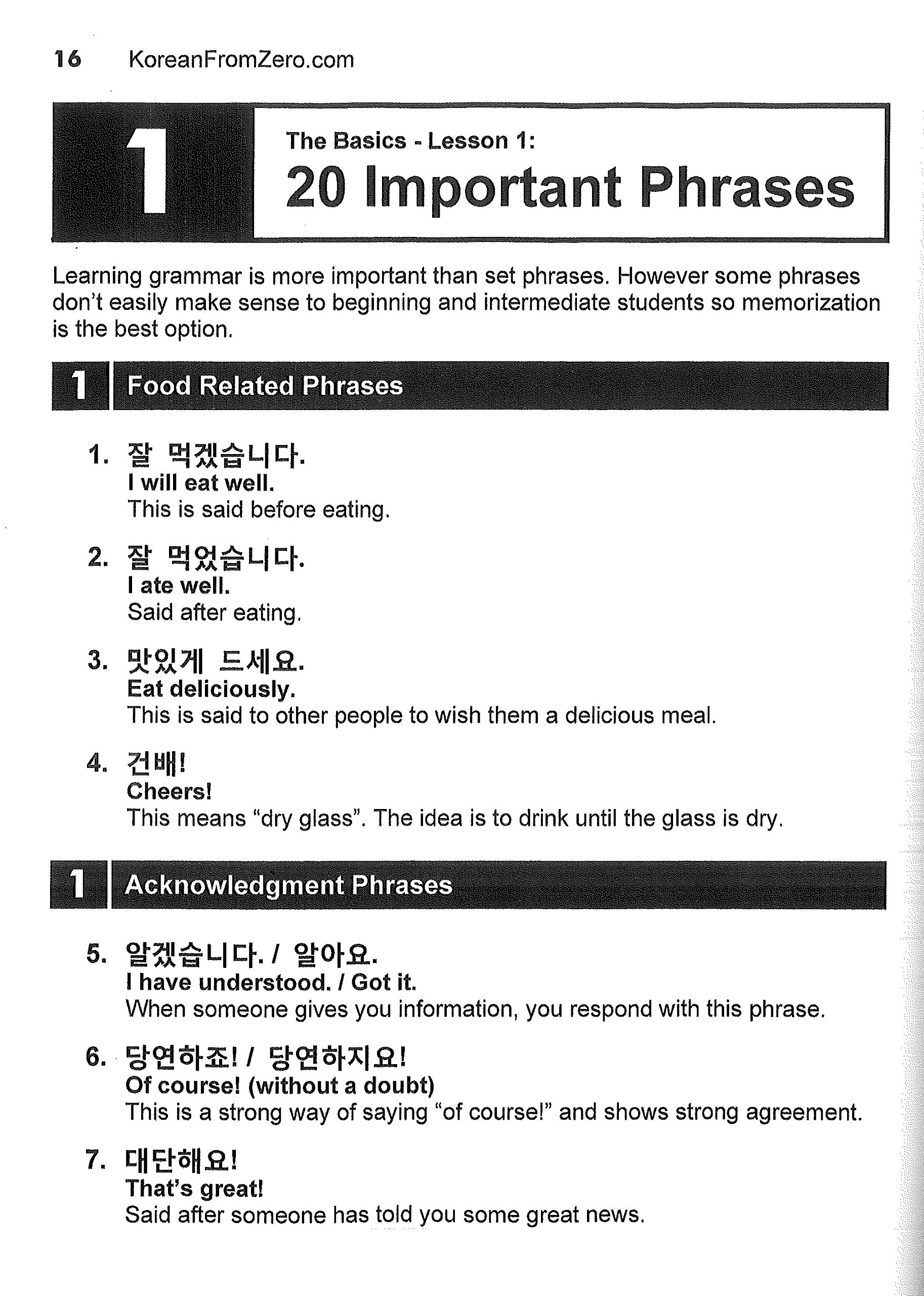 Korean From Zero! 2: Continue Mastering the Korean Language with ...
