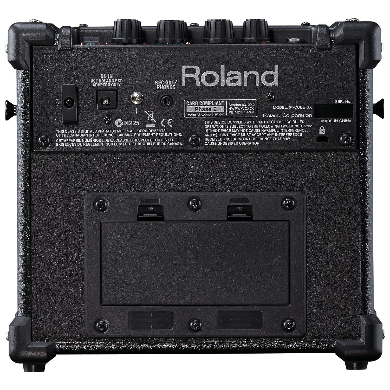 Roland Amplificador de Guitarra - M-CUBE-GX con 8 efectos DSP, 8 modelos de amplificador COSM, afinador cromático, el IOS i-Cube: Amazon.es: Instrumentos ...