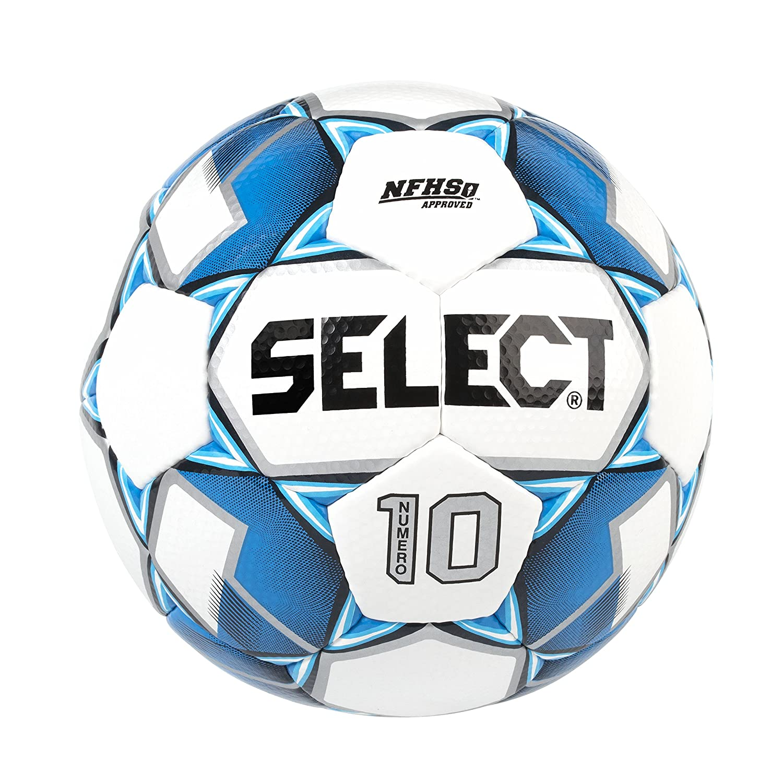 Select Numero 10 - Balón de fútbol, Color White/Royal Blue, tamaño ...