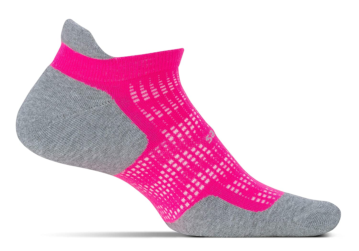Feetures - High Performance Cushion - No Show Tab - Athletic Running Socks for Men and Women Feetures! Men's Socks FA50 trail running socks compression socks