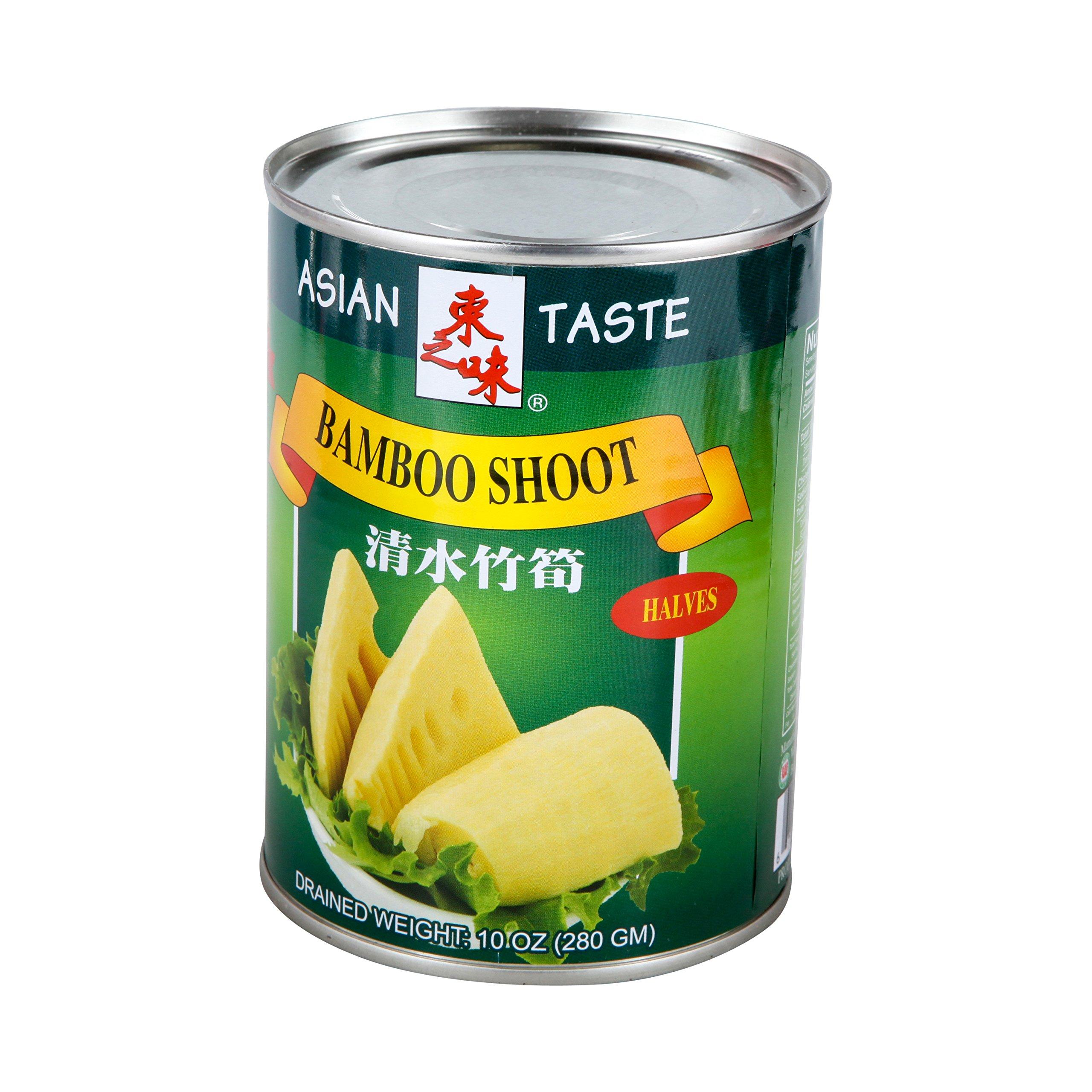 Asian Taste, Bamboo Shoot Halves, 10 oz