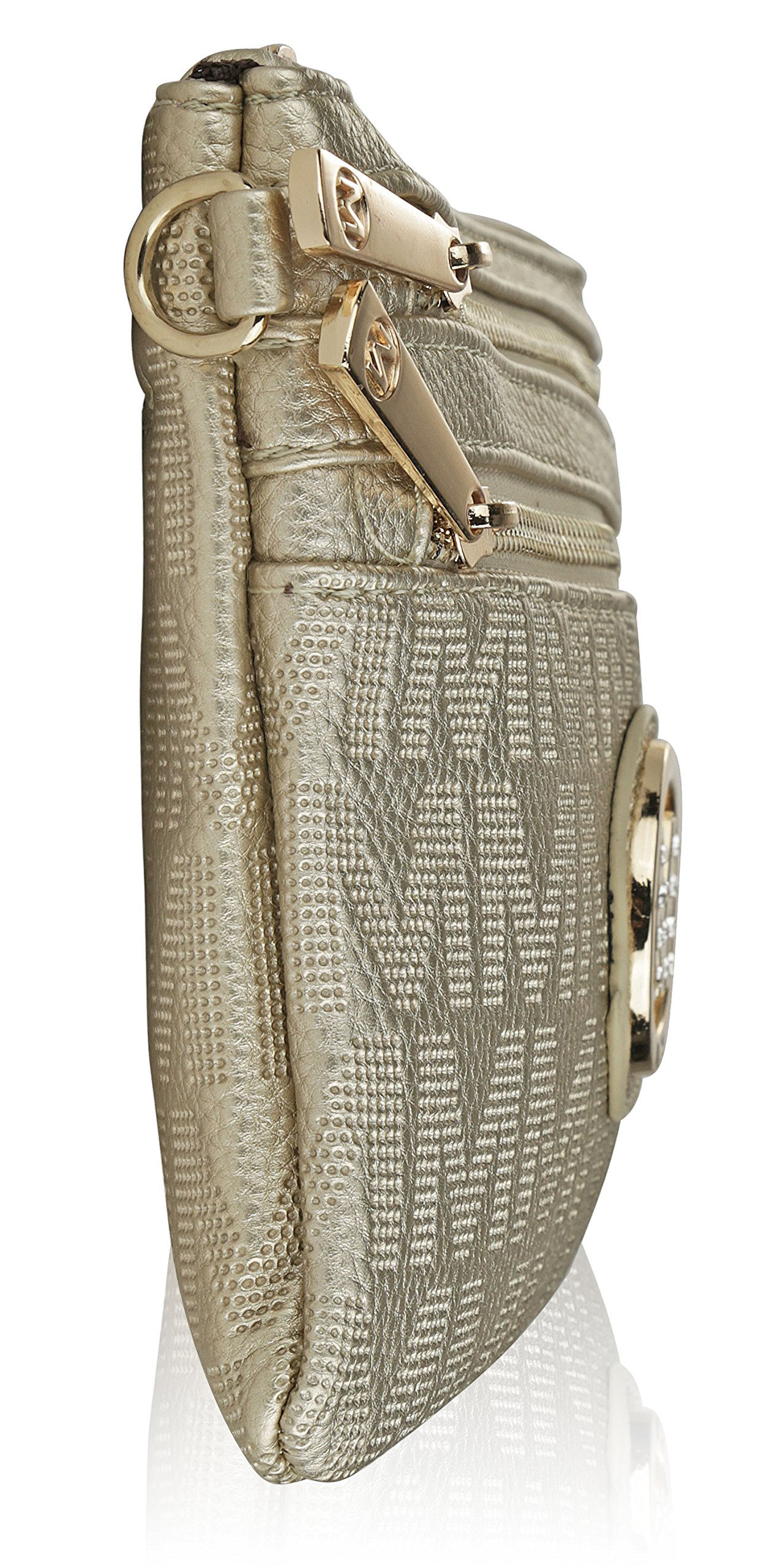 Wristlet | 2-in-1 Crossbody Bags for Women | MKF Collection Roonie Milan Signature Design by MKF Collection (Image #7)