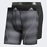 adidas mens Sport Performance Boxer Briefs Underwear (2 Pack)