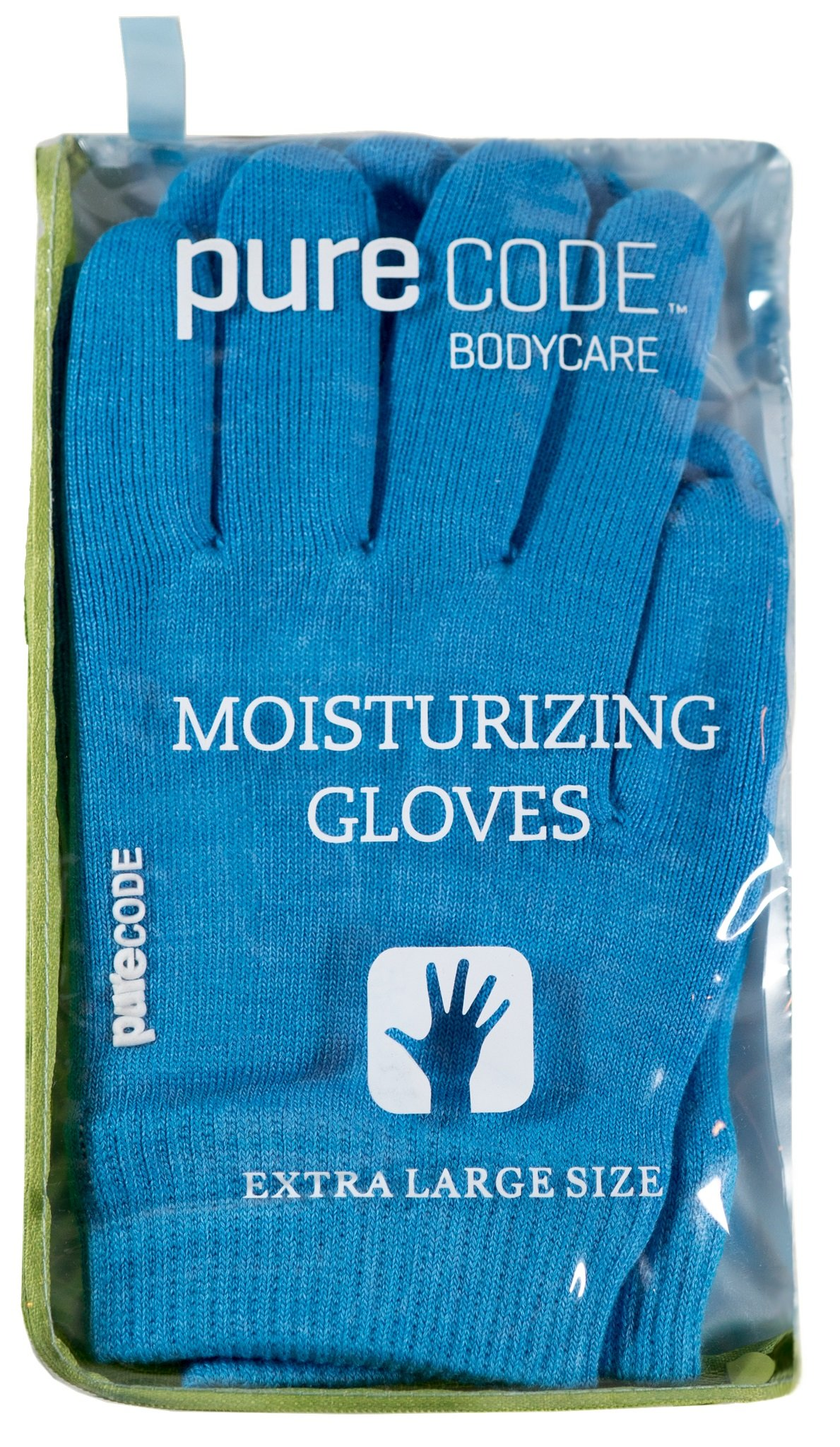 PURECODE Moisturizing Gel Gloves (Dark Blue XL Men) by PURECODE (Image #3)