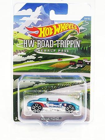 2015 Hot Wheels HW Road Trippin MX48 Turbo #10/21 (Mtflk.