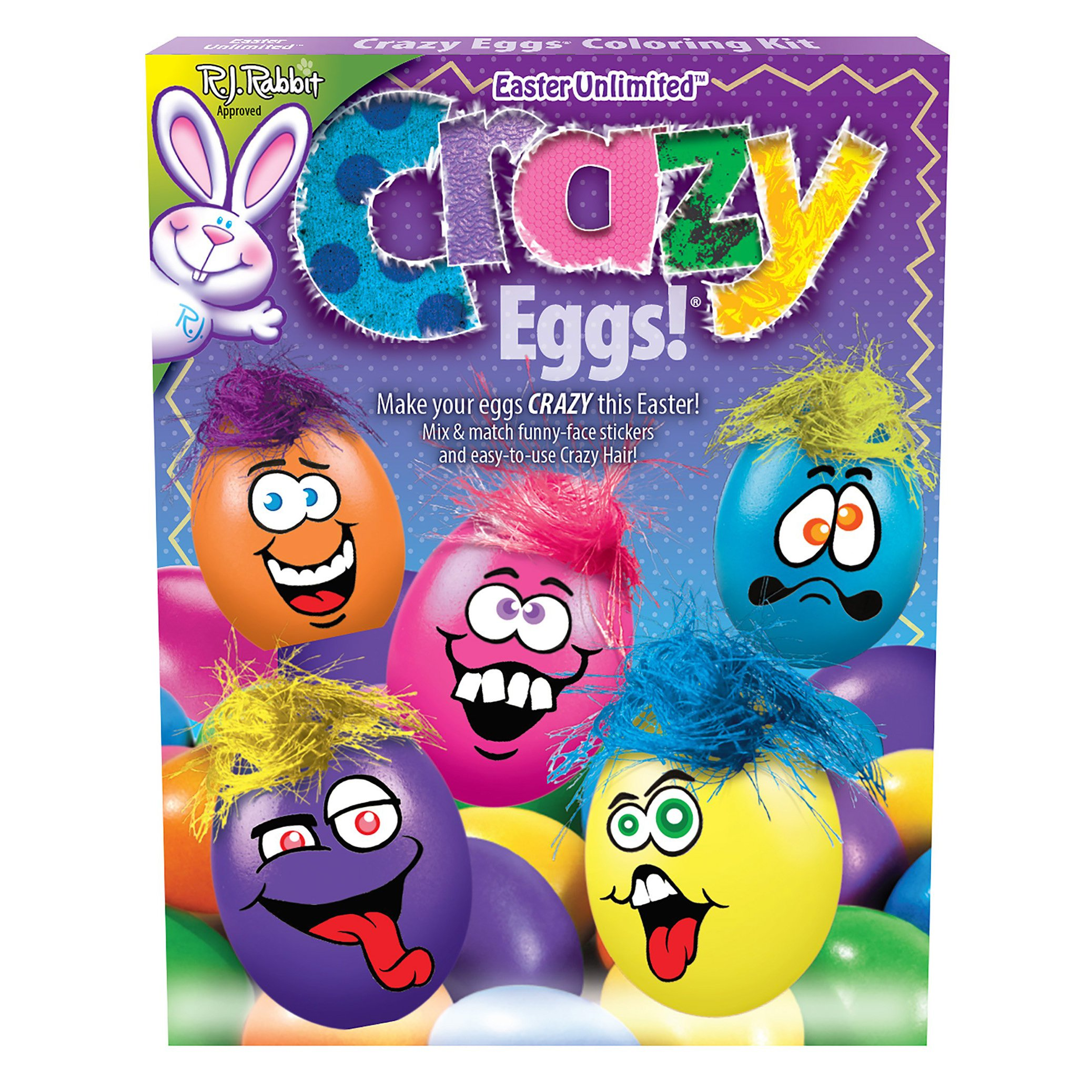 Easter Eggs Decoration Kit By Cocoapod: Amazon.com : Paas Mini Monsters Easter Egg Decorating Kit