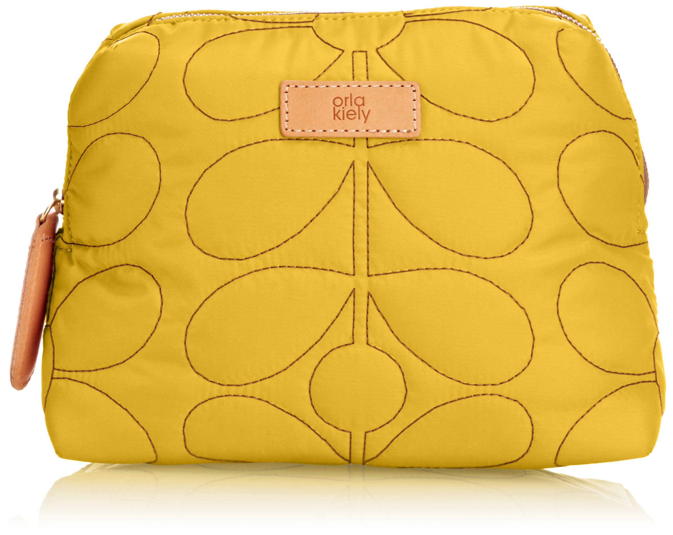 Orla Kiely Sixties Stem Quilted Wash Cosmetic Case