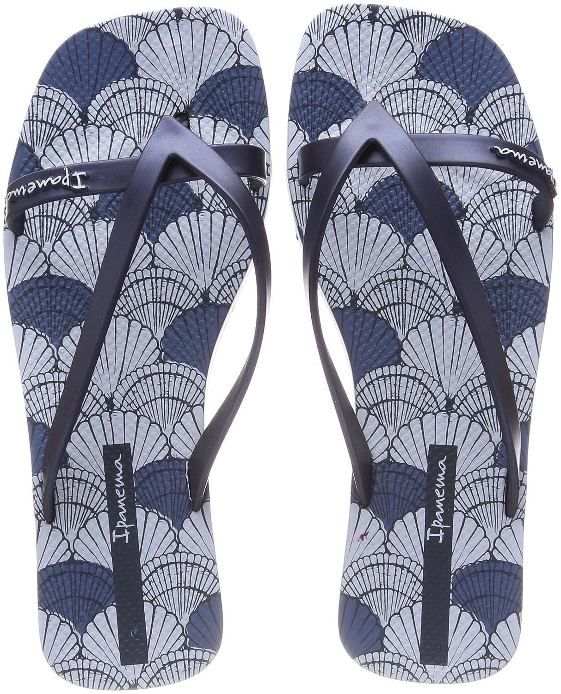 Ipanema Damen Fashion Kirey V Fem Zehentrenner  41/42 EU|Mehrfarbig (Blue/Blue)