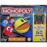 Monopoly Arcade Pac-Man Game - Juego de Mesa para niños de 8 años en adelante; Incluye Unidad bancaria y Arcade